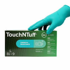 Ansell TouchNTuff Nitrile Gloves LARGE **2 BOXES FOR £28.00
