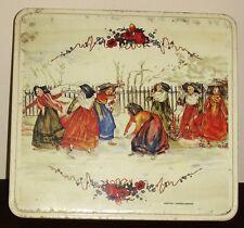 Ancienne boîte à gâteaux GEROPA décor OBERNAI SARREGUEMINES