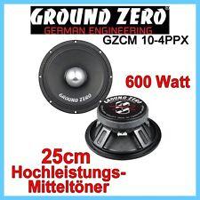 Ground Zero GZCM 10-4PPX - 25cm Hochleistungs-Mitteltöner 250mm Lautsprecher PA