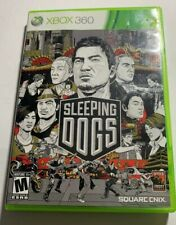 SLEEPING DOGS XBOX 360 GAME WITH CASE