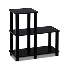 Modern Coffee Table Wood End Storage Stand Living Room Furniture Espresso/Black