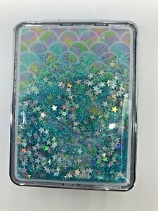 Compact Mirror Rainbow Stars & Glitter Magnified & Regular Great Gift! GLOBAL!