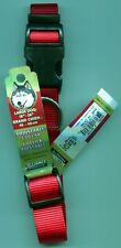 "Alliance Products Adjustable Large Dog Collar 18"" - 26"" Red, Blue, Black 1"" Wide"