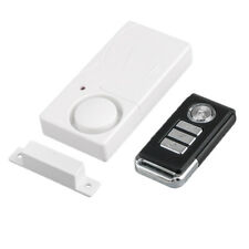 Wireless Remote Control Magnetic Sensor Door Window Home Security Alarm 110dB