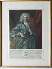 EDWARD COLSTON ENGRAVING BY GEORGE VERTUE AFTER JONATHAN RICHARDSON DATE 1722