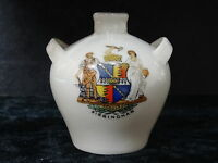 Arcadian China Model of a Vase with Birmingham Crest.