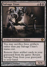 1x Salvage Titan Shards of Alara MtG Magic Black Artifact Rare 1 x1 Card Cards