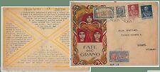 64169 - REGNO - STORIA POSTALE:  BUSTA ESPRESSO con BELLISSIMA AFFRANCATURA 1926