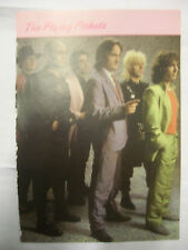 THE FLYING PICKETS 185mm x 265mm poster page from Girl Annual 1986