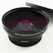 Pixco 67mm 0.45x Wide Angle Camera Lens Converter + Macro for DSLR  82mm front