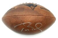 Tom Brady Hand Signed Autographed NFL New England Patriots Mini Football COA