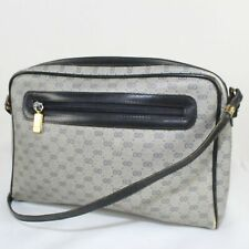 Authentic Gucci Vintage GG Print Shoulder Bag
