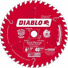 """Freud 6 1/2"""" 40T Diablo Circular Saw Blade D0641X"""