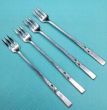 Oneida Morning Star Cocktail Forks Set of 4