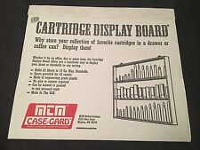 MTM CASE-GARD 42 Cartridge Display Board for Ammunition Collectors CDB1 - NEW