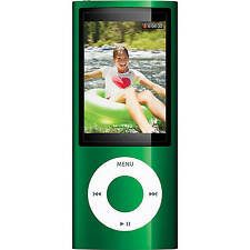 Official Apple iPod Nano 5th Gen Green *VGWC*+Warranty!!