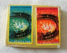 1939 New York World's Fair Double Deck Playing Cards - NEVER OPENED