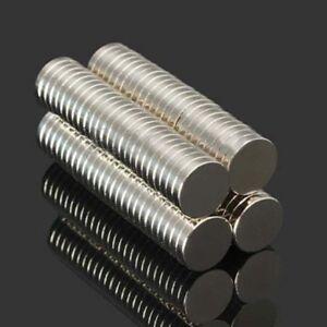 N52 10x2mm Disco Piccolo Utilità Magneti