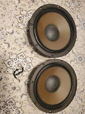 """MATCHED PAIR of SANSUI WOOFERS W-113 6 OHM 12"""" SPEAKERS SP-2500A set"""