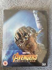 avengers infinity war 3D blu ray steelbook