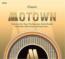 CLASSIC MOTOWN Various Artists NEW & SEALED 3X CD SET  60s 70s Soul (Spectrum)