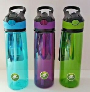 🔥 800ml Large Drink Bottle with Leak Proof Lid Flip Up Straw Sports New