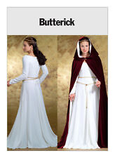 PATTERN for Medieval Dress  & Cape Galadriel Camelot Butterick 4377 14 16 18 20