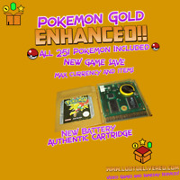 Pokémon Gold Enhanced All 251 Pokemon Included - Max items and Currency
