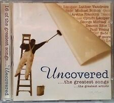 Uncovered (1995, Sony) | CD | Aretha Franklin, George Michael, Paul Young, Da...
