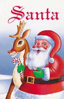 SANTA Personalised Book for Kids Christmas Story Gift - HARD BACK