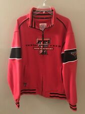 Texas Tech Red Raiders Men's Mid-Weight Warm-Up Jacket - XL