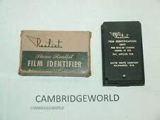 REALIST FILM INDENTIFIER FILM IDENTIFICATION UNIT MOD ST 523 for REALIST CAMERA