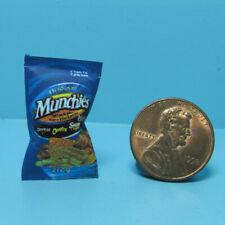 Dollhouse Miniature Detailed Replica Munchies Original Snack Mix Bag HR54221