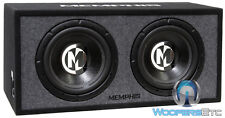 "MEMPHIS PRXE12D 12"" 1200W LOADED ENCLOSURE SUBWOOFERS BASS SPEAKERS PORTED BOX"