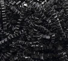 Crinkle Cut Paper Shred Gift Basket Paper Grass Filler Black 4 oz, 8 oz or 16 oz