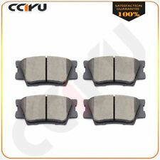 For 08 09 10 11 12 13 14 15 Toyota Avalon Camry Matrix 4 Rear Ceramic Brake Pads