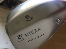 Miura Forged 51 Degree Wedge - Very rare - Prototype Wedge By Miura