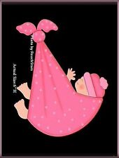 PINK BUNDLE BABY MAGNET EMBELLISH YOUR STORY by ROEDA™ FREE U.S. SHIPPING