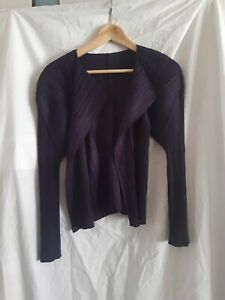 Pleats please Issey Miyake purple blouse size 3 made in Japan