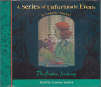 Austere Academy Lemony Snicket Series Unfortunate Events Fifth 3CD Audio Book