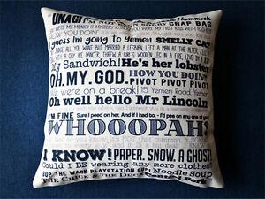 New TV Show Friends Quotations Throw Pillow Case+Pillow Inner Home Decor Pillow
