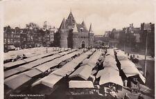 NETHERLANDS - Amsterdam - Nieuwmarkt - Echte Foto