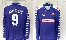 Fiorentina 1998 BATISTUTA Home Shirt LONG SLEEVE ARGENTINA FOOTBALL SIZE XXL 2XL