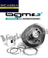10197 - CILINDRO E PISTONE BGM ORIGINALE 200 cc 12CV VESPA PX 200 ARCOBALENO