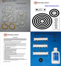 1978 Bally Bobby Orr's Power Play Pinball Basic Tune-up Kit - w/Rubber Ring Kit