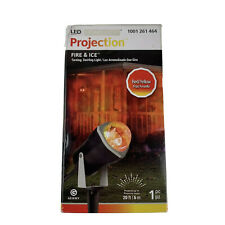 NEW - Gemmy Lightshow Halloween Fire and Ice Red/ Yellow Projection Light