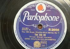 78 rpm GENE KRUPA ORCH the big do / drum boogie