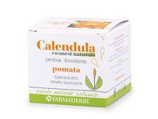Pomata Crema alla CALENDULA-Cicatrizzante/Emolliente Pelle secca 75ml-Farmaderbe