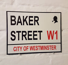Londres calle signo-Baker Street-Metal Aluminio signo-Sherlock Holmes