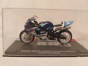 1:24 IXO - ALTAYA SUZUKI GSX-R 24 Hr Du Mans 2004 S.CHAMBON - KITAGAWA -NOWLAND